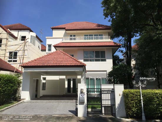 onnut-ring road house for rent,villa nakarin village,on nut-ring road,bangna,garden,bangkok patana school 71492956
