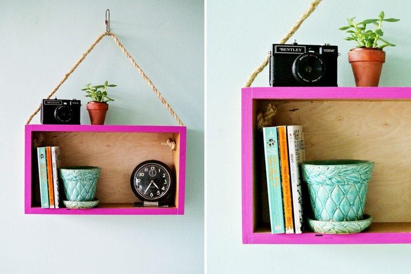 5 DIY ชั้นวางของ สุดประหยัด จากหลากไอเดียสุดสร้างสรรค์