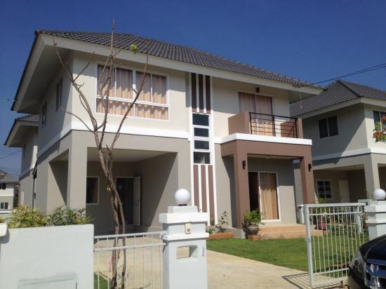 Id608 nice and modern house with fully furnished located for Nice modern houses for sale