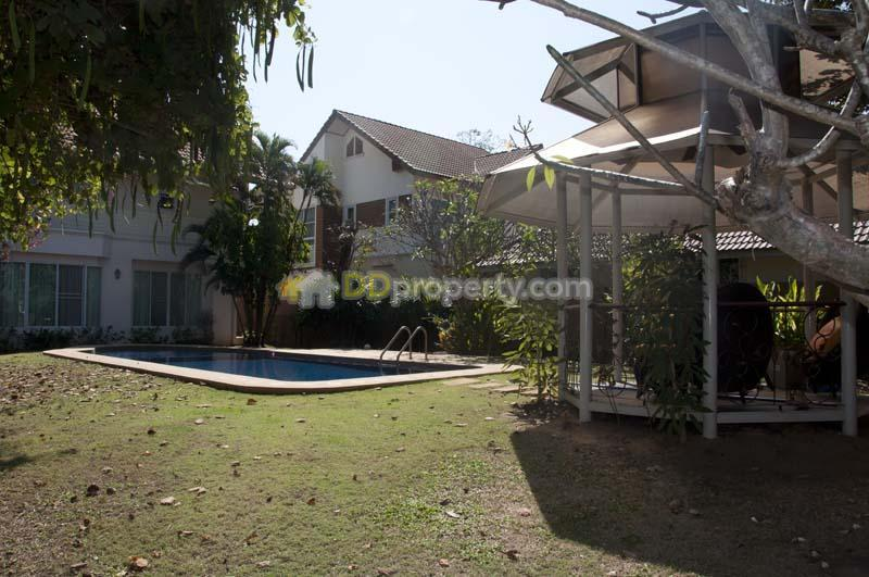 House For Rent With Private Swimming Pool Close To Royal Park Rajapruek In Chiangmai Soi Huai