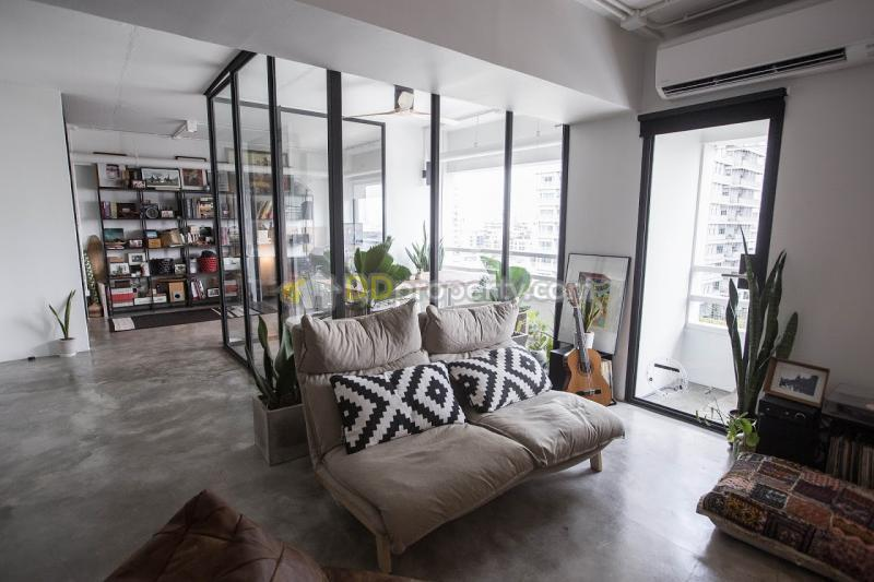 Awesome Condo For Rent Loft Style At Thonglor 2 Bedroom