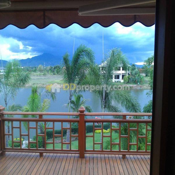 Amr0077 house for rent with 4 bedrooms and swimming pool near mae rim makro mae sa mae rim for Chiang mai house for rent swimming pool