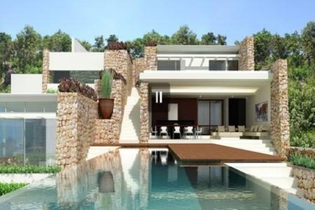 Modern designed 4 bedroom houses for sale swimming pool for 9 bedroom homes for sale