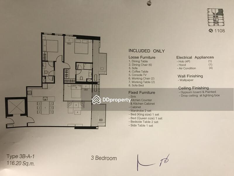 Siamese Exclusive Sukhumvit48 48 สุขุมวิท Khlong Tan Nua Watthana Impressive 3 Bedrooms For Sale Set Plans