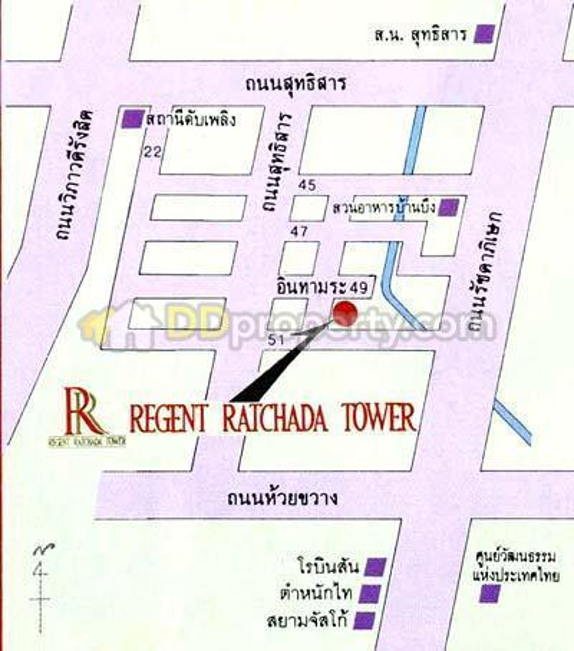 Regent Ratchada Tower condominium #3052005