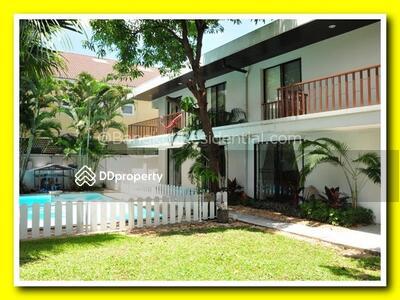 ให้เช่า - Single House Phra Khanong 3 Bed For Rent (BR8020SH)