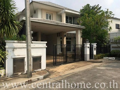 ขาย - ขายบ้านเดี่ยว 58. 60 ตร. ว. บางกอก บูลเลอวาร์ด แจ้งวัฒนะ (หลังริม) นนทบุรี