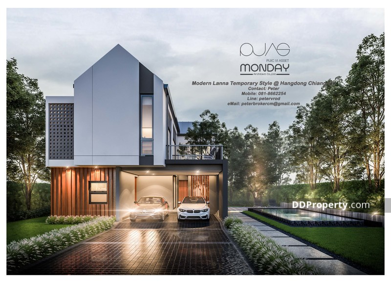 Modern Lanna Contemporary Style Home Chiangmai Hangdong for Sale ...