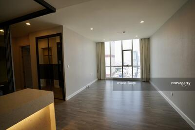 For Sale - The Room Sathorn Thanon Pun 2 Bed. 2 Bath. 25th flr. near BTS Surasak. unblocked beautiful surrounding city view from the top floor