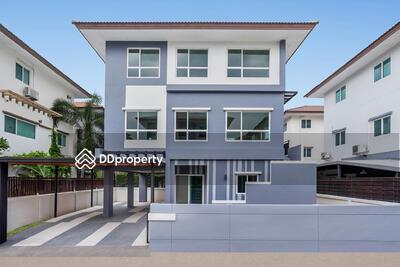 ขาย - บ้านเดี่ยว ม. คาซ่าพรีเมี่ยม ราชพฤกษ์-พระราม5 ใกล้ตลาดเจ้าพระยา เดอะวอล์ค ร. ร. เตรียมอุดมศึกษาฯ