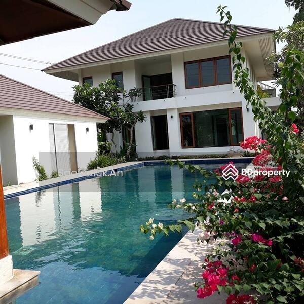 บ้านเดี่ยว 2 ชั้น สร้างเอง มีสระว่ายน้ำ อยู่ใน ม.อารียา โคโม่ ลาดกระบัง-สุวรรณภูมิ #66843771