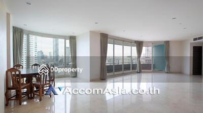 ให้เช่า - WaterMark Chaophraya River condominium 4 Bedroom for rent in Charoen Nakhon Bangkok KrungThonBuri BTS AA25113