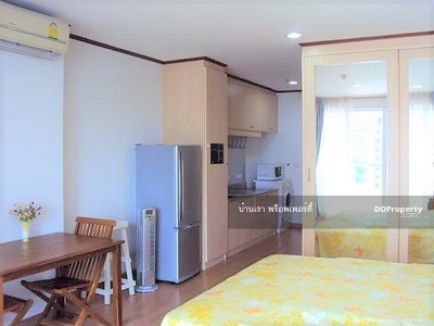 For Rent - Rent Condo Silom Grand Terrace Studio 41 sqm Fully furnished BTS Saladaeng with washing machine