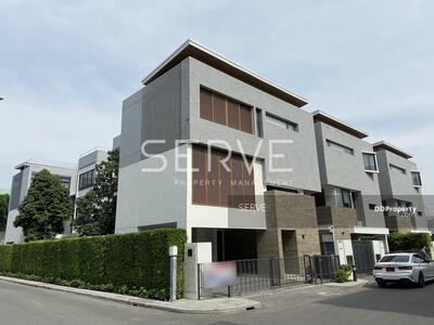 For Sale - PARC PRIVA - Single house in New CBD (Ratchad-Rama9) 4 BD 4 Bth  FOR SALE @ 60, 000, 000 THB.