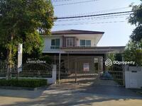 ขาย - OO027 ขาย บ้านเดี่ยว มัณฑนา เลค วัชรพล อยู่หน้าโครงการ  ติดถนนเมน  วิวสวย หลังใหญ่