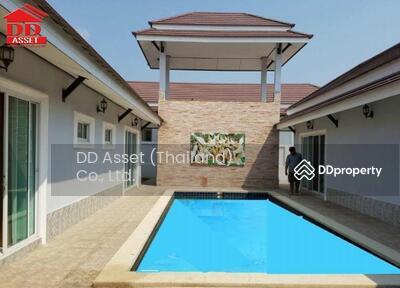 ขาย - ขายบ้าน Pool villa บางเสร่ สัตหีบ ชลบุรี  หมู่บ้านโชคชัย4 บางเสร่ (Chokchai 4 Bangsaray)