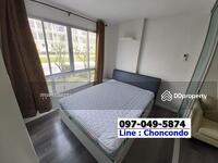 ขาย - ขายถูก D Condo บางแสน ชั้น2 ตึกA วิวโล่ง ชลบุรี Tel/Line 097-049-5874