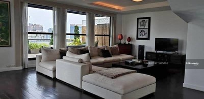 For Sale - CRP-S1-CD-621914 Somkid Garden for Sell on Chidlom, Duplex, 2 Bed 2 Bath, close to BTS Chidlom