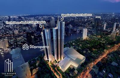 ขาย - Condo for SALE *The Residences At Mandarin Oriental Bangkok Penthouse Suites ห้องมุม ทิศใต้ ชั้นสูง 40+