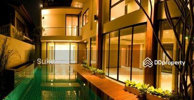 ให้เช่า - Single House For Rent Sukhumvit 34 (Thonglor) 4 bed/4 br size 550 sqm well decorated