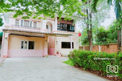 For Rent - Detached House in Muang Nonthaburi, Nonthaburi