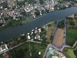 ขายที่ดิน 14 ไร่ ใจกลางเมืองกาญจนบุรี ติดริมแม่น้ำแคว