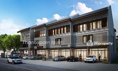ขาย - อาคาร3ชั้น ติดถนน ใกล้มหาวิทยาลัยเชียงใหม่
