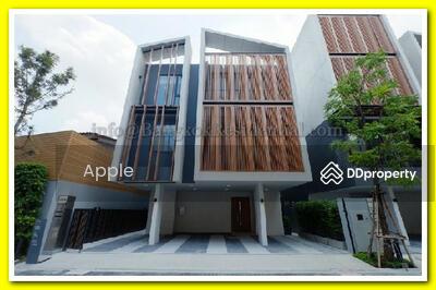 ขาย - Single House in Compound 4 Bed For Sale in Ekkamai BR8428SH