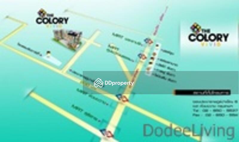 ขายคอนโด เดอะ คัลเลอร์รี่ วิวิด ใกล้ MRTห้วยขวาง เพียง 300 เมตร 31.33 ตรม. 1 ห้องนอน 2 ห้องน้ำ ราคาถูก ref-id: FCS040 #75276693