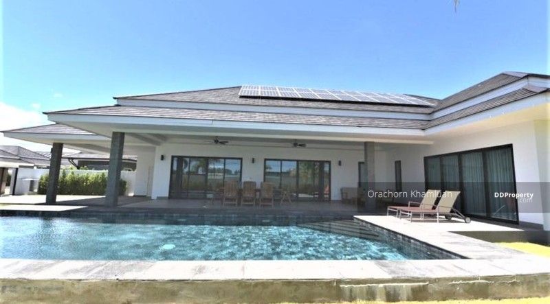 New Luxury Pool Villa In Hua Hin Near Palm Hills Golf Resort #75291051