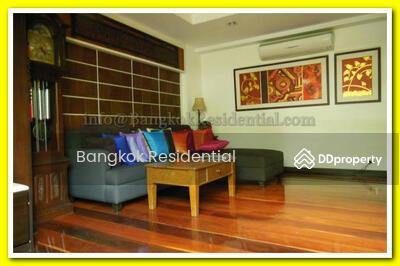 ให้เช่า - 3 Bed Townhouse in Compound For Rent in Phrom Phong BR8510TH