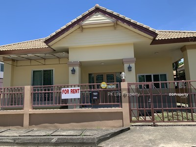 For Rent - 8R0152 This house 3 bedroom 2 bathroom 20, 000/month at Chalong have fully furnished