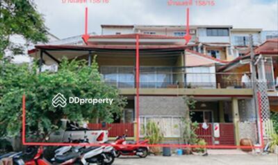 ขาย - ขายถูก! ทาวน์เฮ้าส์ หมู่บ้านเกษมทรัพย์ 2 จังหวัดภูเก็ต 03-88-04974