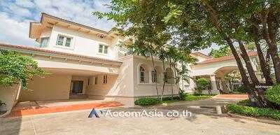For Rent - House in compound house 5 Bedroom for rent in Sukhumvit Bangkok Bearing BTS 2420801