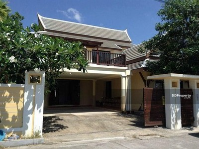 For Rent - 8R0165 Pool villa 4 bedroom 5 bathroom 50, 000/month at Chalong have fully furnished
