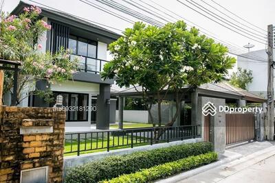For Sale - House for sale, Nirvana Private Soi Sahakarn, 4 bedrooms, 5 bathrooms, 300 sqm. 22MB Contact 0932181290 Ke