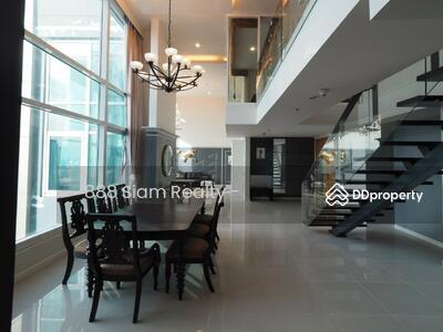ให้เช่า - RENT CONDO Circle Condominium (เซอร์เคิล คอนโดมิเนียม) Type 4 Bedroom Duplex , 4 bathroom, Ready to move in MRT Petchaburi