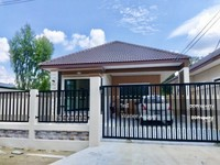 ขาย - ขายบ้านสร้างใหม่ สไตร์โมเดิร์น  ซ. โรสอิน ติดตลาดเทิดไท