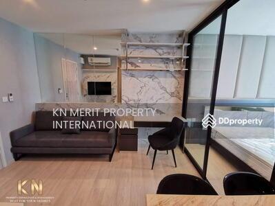 ให้เช่า - Life อโศก ให้เช่า 1 ห้องนอน 1 ห้องเอนกประสงค์ ขนาด 35 ตารางเมตร ชั้น 24 ตกแต่งสวยงาม ห้องใหม่ พร้อมเข้าอยู่