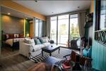 ขายคอนโดบ้านปลายหาด พัทยา ห้องตัวอย่าง 41. 91 ตร. ม. ชั้น 2 ตกแต่งครบ