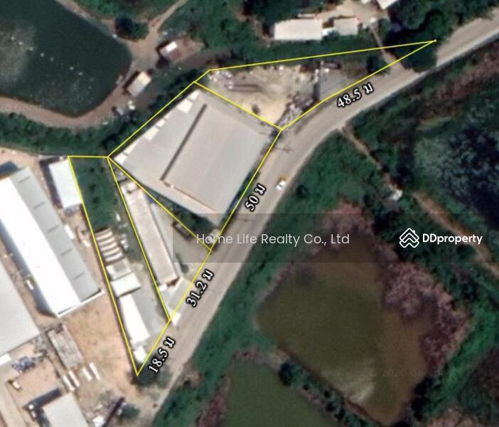 ขายโรงงาน พื้นที่ 3 ไร่ ติดถนนเทพารักษ์ บางบ่อ #78340125