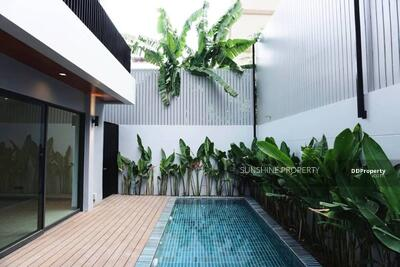 For Sale - House For Sale 4 Bed 5 Bath Fully Furnished Sukhumvit 49 Location Phrompong with Pool.