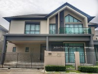 ขาย - ขายบ้านเดี่ยว บางกอกบูเลอวาร์ด แจ้งวัฒนะ2 แต่งสวย บ้านใหม่ 70ตร. ว. 11. 9ล้าน