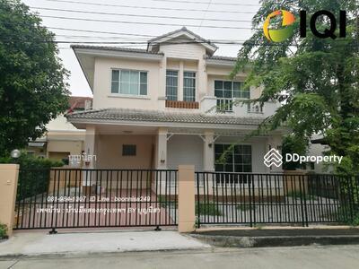 For Sale - ขาย บ้านเดี่ยว หมู่บ้าน ปาริชาต คุ้มเกล้า 11 ใกล้สนามบินสุวรรณภูมิ #LB73 - 018506