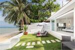 Modern 2 bedroom beach front house at Bang Por [920121003-253