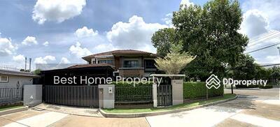 ขาย - ขาย บ้านเดี่ยวเศรษฐสิริ ชัยพฤกษ์ แจ้งวัฒนะฯ ทำเลหลังมุม ตกแต่งสวย หิ้วกระเป๋าอยู่ได้ทันที บนทำเลศักยภาพ
