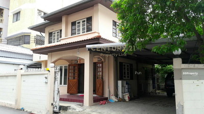 For Rent - Sell and rent a single house, Soi Ratchada 14, Huay Kwang zone, near MRT Huai Khwang / 50-HH-63062.