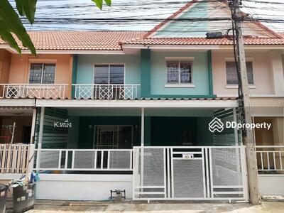 For Sale - NS007ขายบ้านใหม่ทาวน์เฮาส์2ชั้น หมู่บ้านพฤกษาC รังสิตคลอง3 พร้อมอยู่