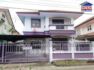 For Sale - บ้านเดี่ยว 2 ชั้น 54 ตร. ว. หมู่บ้านลานทอง ถนนติวานนท์ - 40171