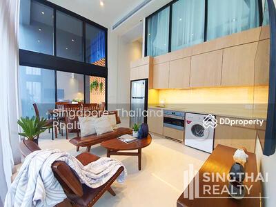 For Rent - The Lofts Silom BTS Chongnonsi Duplex 2 bed / 1 bath